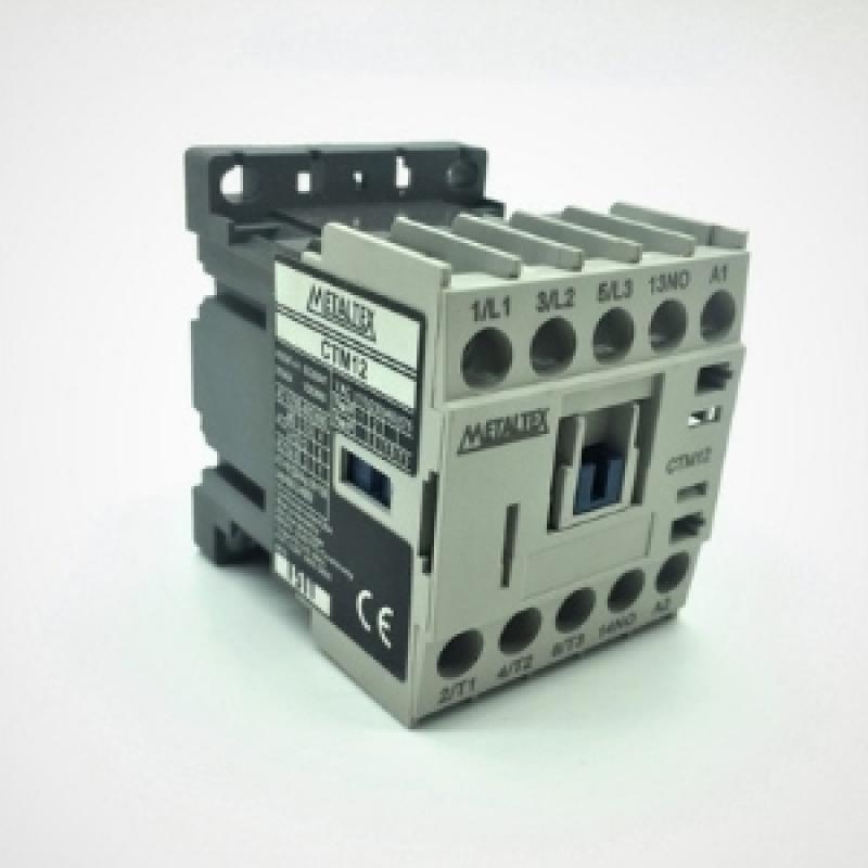 Contator para Motor Sapopemba - Contator para Banco de Capacitor